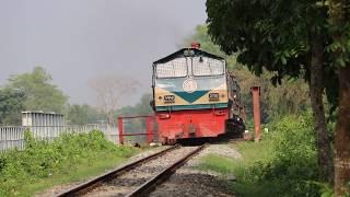 Chattala Express চট্টলা এক্সপ্রেস passing Norsindi Area !! CTG Dhaka