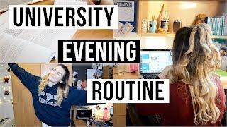 University Evening Routine   ohhitsonlyalice