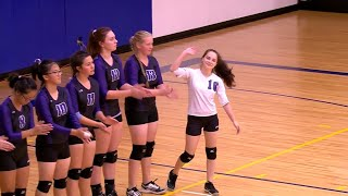 Brooklyn Center vs. Breck Girls High School Volleyball
