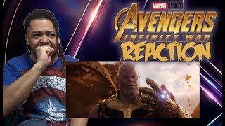 Marvel Studios' Avengers: Infinity War Official Trailer REACTION!!