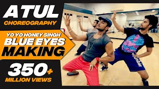 Big Dance Centre I Atul & Karan choreography I Blue Eyes songs rehearsal with Honey Singh.