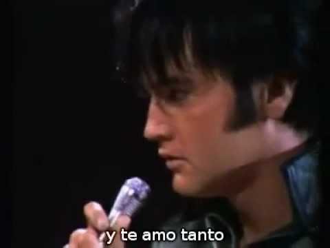 Love me tender Elvis Presley Subtitulos en español