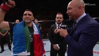 Fight Night Argentina: Ricardo Lamas Octagon Interview