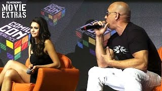 xXx: Return of Xander Cage | Brazil Comic-Con Interviews with Vin Diesel and Nina Dobrev