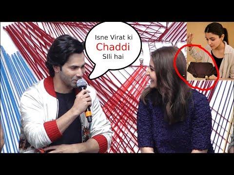 Xxx Mp4 Varun Dhawan Making Fun Of Virat Kohli In Front Of Anushka Sharma Sui Dhaga Trailer Launch 3gp Sex
