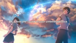 RADWIMPS – Zen Zen Zense | English + Japanese version- Kimi no Wa - (YOUR NAME) LYRICS