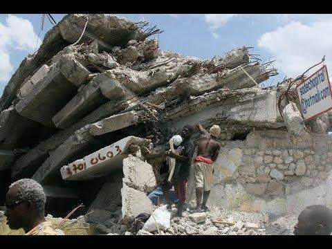Haiti earthquake footage never seen before