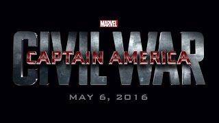 Captain America: Civil War (2016) / Comic con Teaser Trailer / HD 1080p