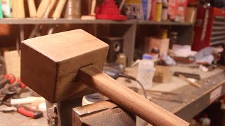 Making a Wooden Mallet