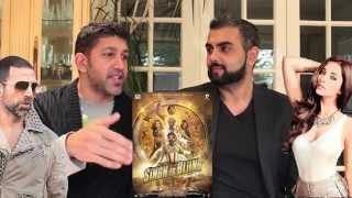 Singh Is Bliing Trailer Reaction | Akshay Kumar, Amy Jackson