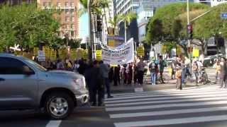 Rally Against Racist in L.A.(2014.12.13) Part 1