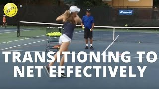 Net Game Tip: How To Transition To The Net