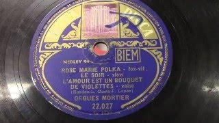 Draaiorgel Mortier: Medley nr. 94.  (1953).