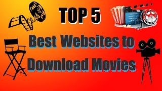TOP 5 - Websites to Download full movies absolutetly free - 2016 - Video HD
