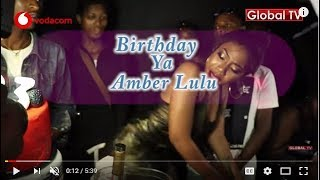 Birthday ya Amber Lulu Kufuru! Mauno Yake Hatari!