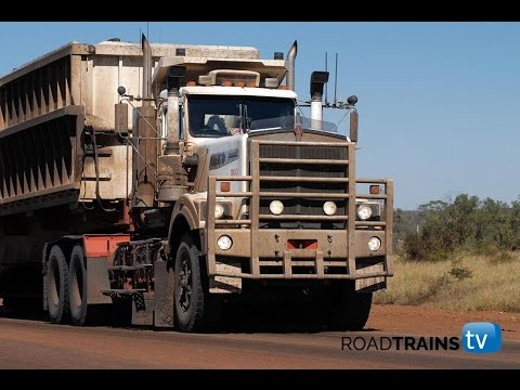 Massive 1000 hp Kenworth C510 with 5 trailer road train