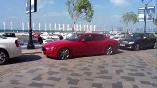 iPad 2 HD test video 720p - Dubai Marina - Maserati