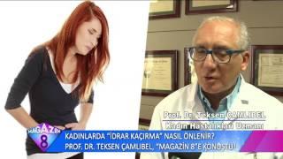 Kadınlarda İdrar Kaçırma Nasıl Önlenir Prof Dr Teksen Çamlıbel Anlattı