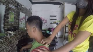 Part #2 ASMR Head Massage & Back Massage Barber | Djois Salon