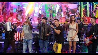 El grupo Jambao cantó sus mejores éxitos en Calle 7