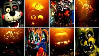 Five Nights at Freddys 6 ALL JUMPSCARES (FNAF 6) | IULITM