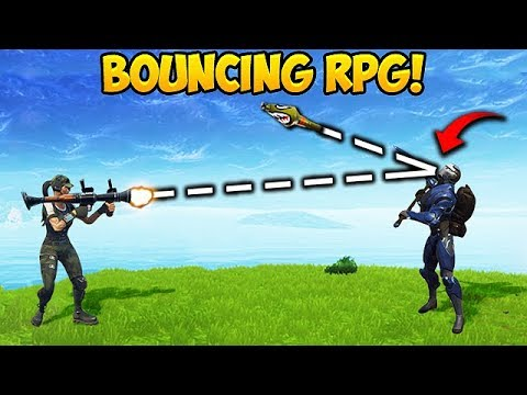 FIRST EVER BOUNCY RPG Fortnite Funny Fails and WTF Moments 209 Daily Moments