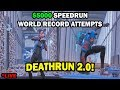 Cizzorz Death Run 2.0 World Record Attempts! ($5,000 Creative Mode DeathRun Challenge)