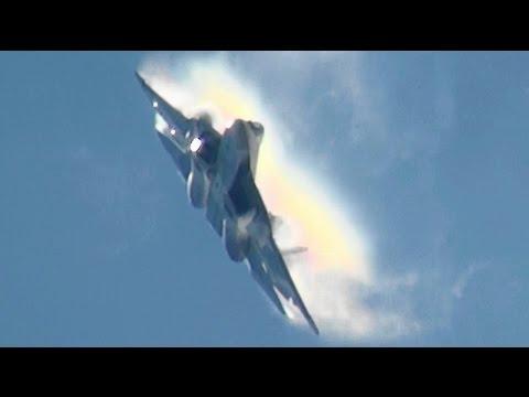 watch Spectacular Russian T-50 Demo MAKS 2015 PAK-FA