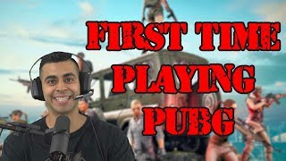 First Time Playing PUBG!   David Lopez
