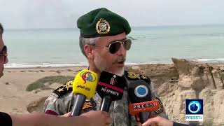 Iran Navy stages military maneuver in southern Iran