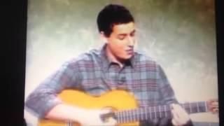 Adam Sandler sings the Turkey Song