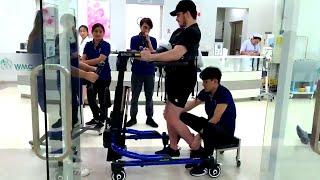 Paralyzed Hockey Player Walks for 1st Time Since Crash
