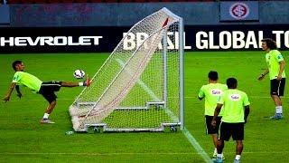 RETO - Neymar Haciendo un GOL Atras de la Porteria en Copa America 2015 (Tiitanes)