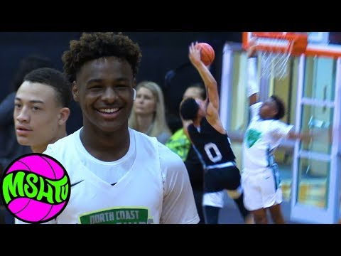 BRONNY IS BACK DON T TEST THE YOUNG KING Blue Chips Close Victory