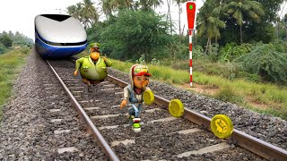 Subway Surfers In Real World - 4K