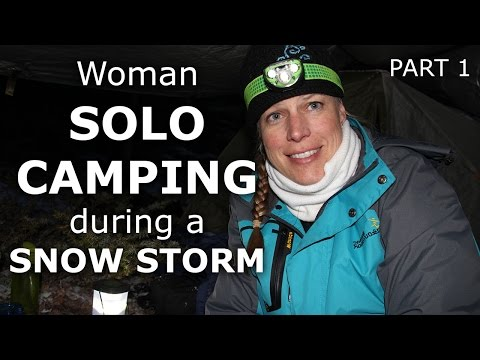 Xxx Mp4 Solo Woman Camping In Colorado Snow Storm Part 1 Our Journey Episode 28 3gp Sex