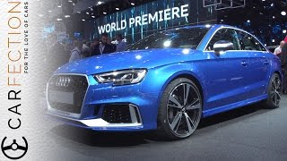 Audi RS 3 Saloon: 400 Horses, 174mph, Room For Stuff - Carfection