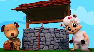 Jack and Jill went up the hill | 3d rhyme | nursery rhyme for children