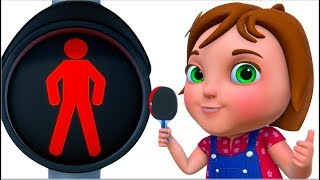 TooToo Girl - Traffic Smart Episode | Cartoon Animation For Children | Funny Comedy Show For Kids