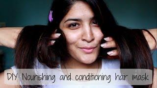 Conditioning and Nourishing Hair Mask | DIY Hair Care | Diwalog Day 6