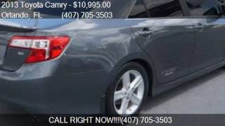 2013 Toyota Camry 4dr Sedan I4 Automatic SE for sale in Orla