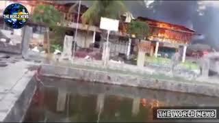 ব্রেকিং : মালয়েশিয়া বিমান হামলা চালাচ্ছে| শে বৌদ্ধদের বাড়ি ঘরে