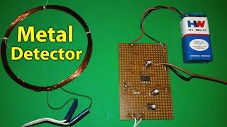 Make a Simple Metal Detector