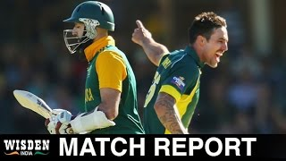 Aus v SA, 1st ODI | Match Report | Wisden India