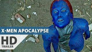 X Men Apocalypse ALL Trailer & Clips (2016) Marvel Superhero Movie HD