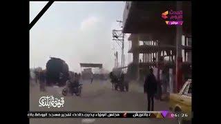 انفراد| لحظة وقوع الاعتداء على مسجد الروضة بسيناء وملاحقة المصلين الفارين