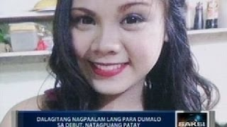 Dalagita sa Cavite na nagpaalam lang na dadalo sa debut, natagpuang patay