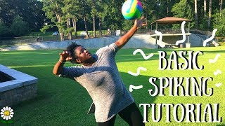 HOW TO SPIKE A VOLLEYBALL - For Beginners