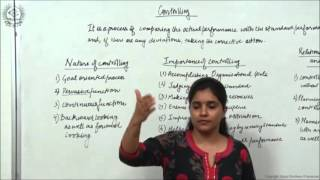 Meaning, Nature and Importance of Controlling Class XII Bussiness Studies by Ruby Singh
