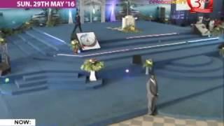 Apostle  ( Prof) Johnson Suleman Live Sunday service 29th May 2016 #DIVINE RESTRICTION PT 3